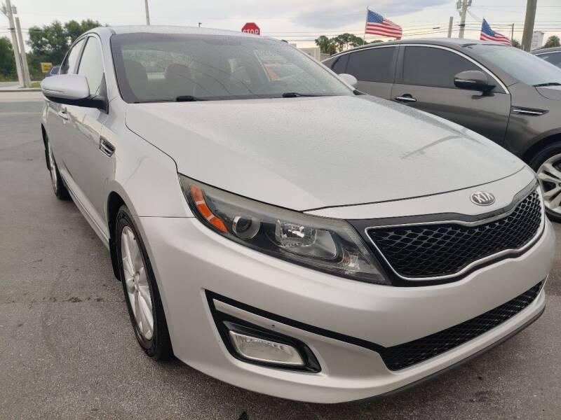 2014 Kia Optima for sale at Celebrity Auto Sales in Port Saint Lucie FL