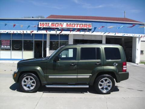 2008 Jeep Liberty for sale at Wilson Motors in Junction City KS