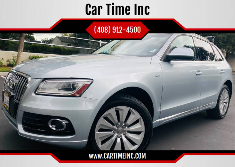 2013 Audi Q5 Hybrid for sale at Car Time Inc in San Jose CA