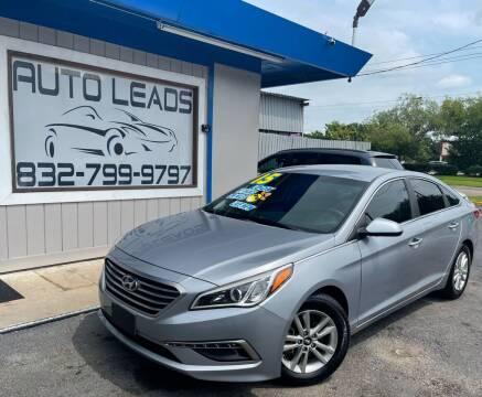 2015 Hyundai Sonata for sale at AUTO LEADS in Pasadena TX
