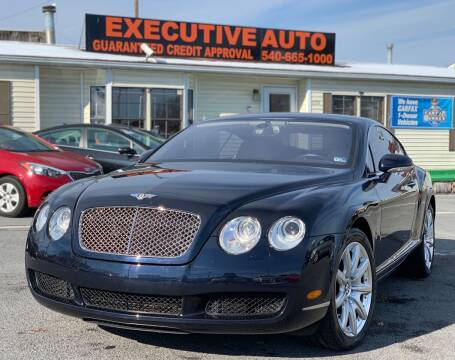 2004 Bentley Continental for sale at Executive Auto in Winchester VA