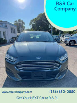 2015 Ford Fusion Hybrid for sale at R&R Car Company in Mount Clemens MI
