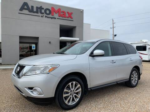 2015 Nissan Pathfinder for sale at AutoMax of Memphis - V Brothers in Memphis TN