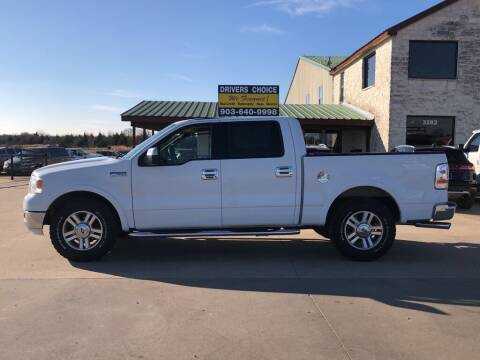 2004 Ford F-150 for sale at Driver's Choice in Sherman TX