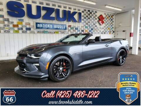 2017 Chevrolet Camaro for sale at BROOKS BIDDLE AUTOMOTIVE in Bothell WA