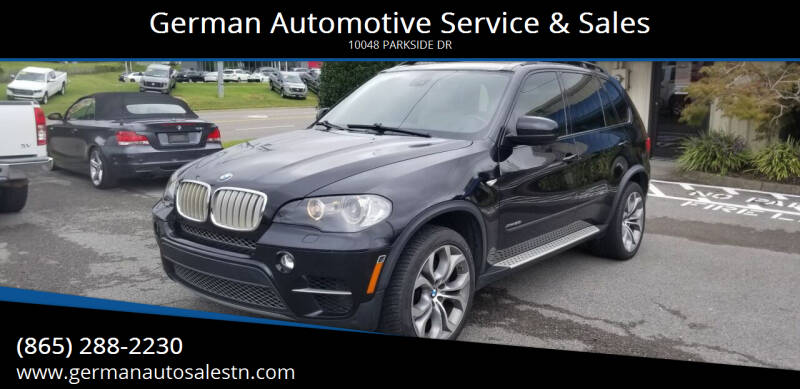2011 BMW X5 for sale at German Automotive Service & Sales in Knoxville TN