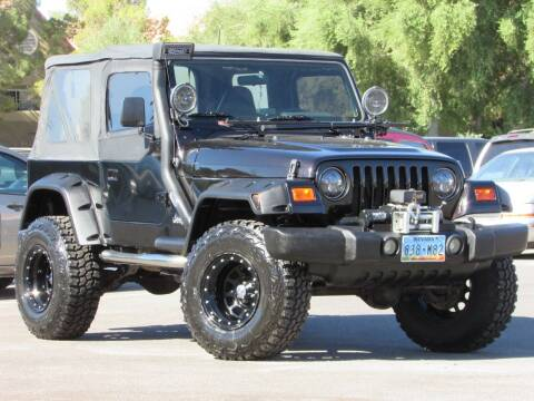 1998 Jeep Wrangler for sale at Best Auto Buy in Las Vegas NV