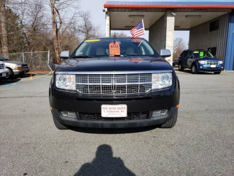 2010 Lincoln MKX for sale at Gia Auto Sales in East Wareham MA