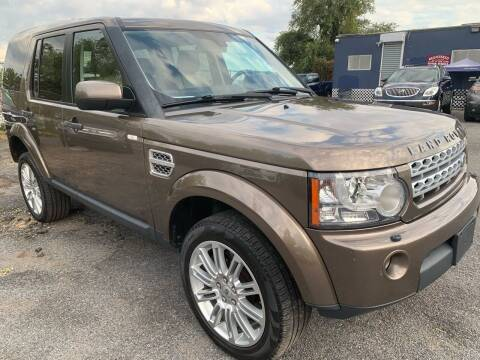 2011 Land Rover LR4 for sale at TD MOTOR LEASING LLC in Staten Island NY