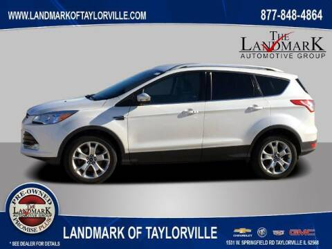 2015 Ford Escape for sale at LANDMARK OF TAYLORVILLE in Taylorville IL