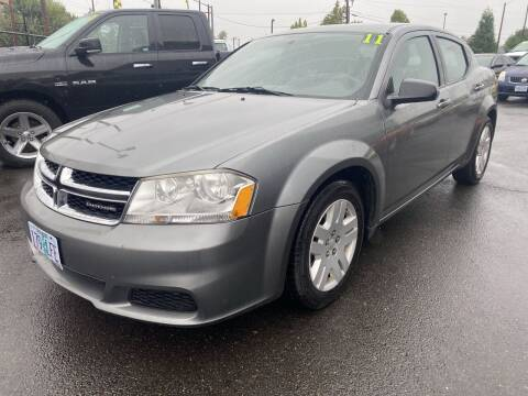2011 Dodge Avenger for sale at Salem Motorsports in Salem OR
