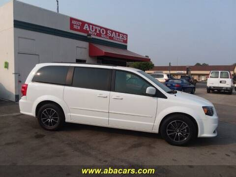 2016 Dodge Grand Caravan for sale at About New Auto Sales in Lincoln CA