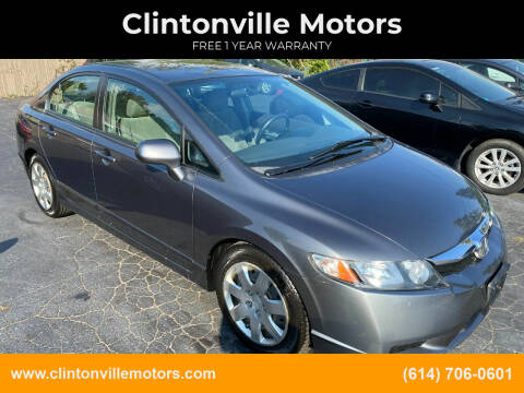 2010 Honda Civic for sale at Clintonville Motors in Columbus OH