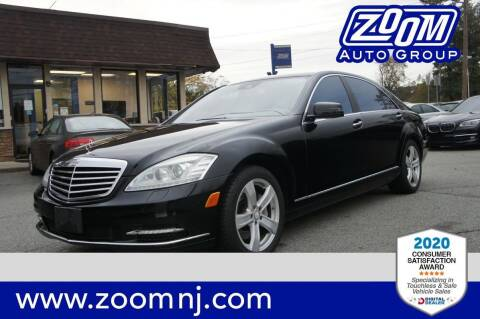 2010 Mercedes-Benz S-Class for sale at Zoom Auto Group in Parsippany NJ