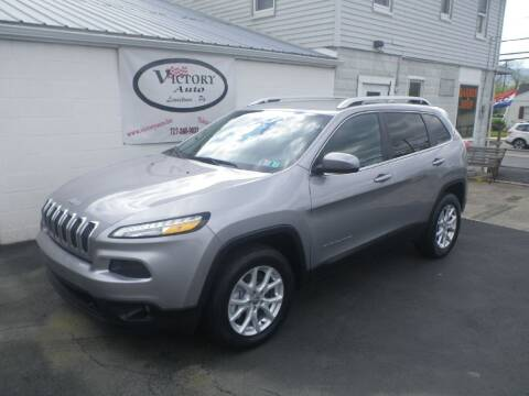 2016 Jeep Cherokee for sale at VICTORY AUTO in Lewistown PA