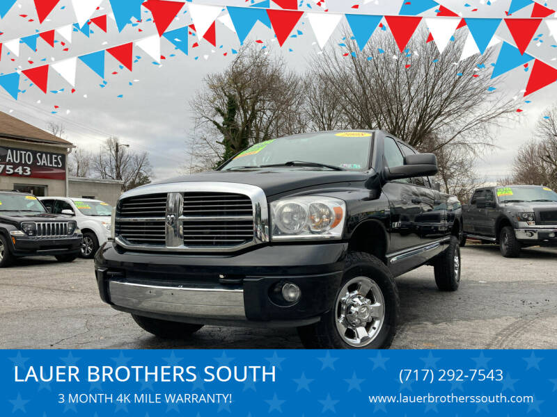 2008 Dodge Ram Pickup 1500 for sale at LAUER BROTHERS SOUTH in York PA