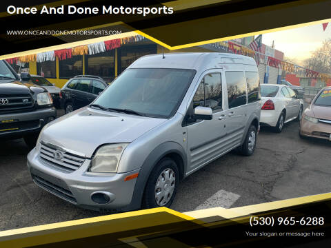 2012 Ford Transit Connect for sale at Once and Done Motorsports in Chico CA
