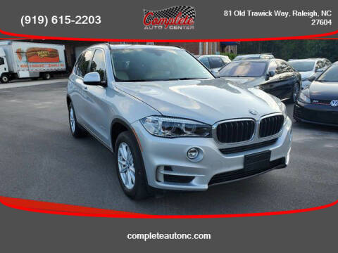 2015 BMW X5 for sale at Complete Auto Center , Inc in Raleigh NC