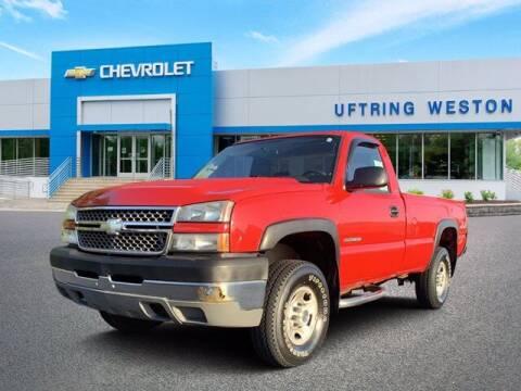 2005 Chevrolet Silverado 2500HD for sale at Uftring Weston Pre-Owned Center in Peoria IL