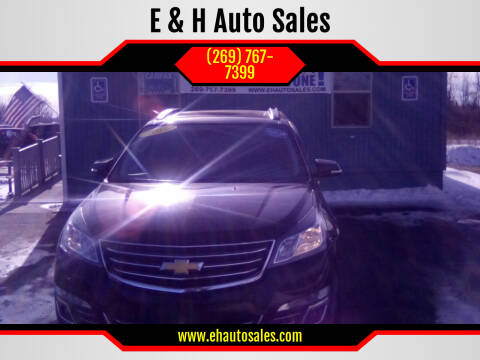 2016 Chevrolet Traverse for sale at E & H Auto Sales in South Haven MI