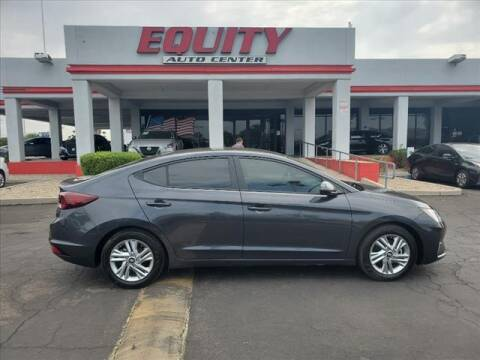 2020 Hyundai Elantra for sale at EQUITY AUTO CENTER in Phoenix AZ