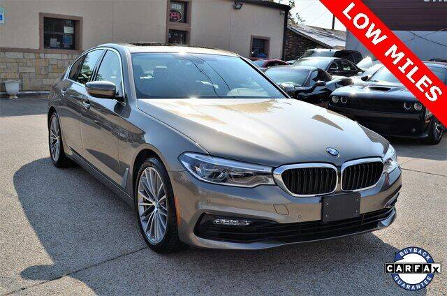2017 BMW 5 Series for sale at LAKESIDE MOTORS, INC. in Sachse TX