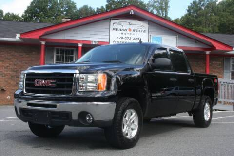 2011 GMC Sierra 1500 for sale at Peach State Motors Inc in Acworth GA