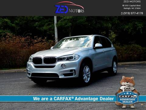 2014 BMW X5 for sale at Zed Motors in Raleigh NC