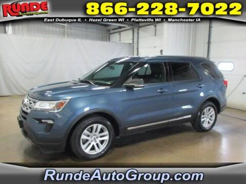2019 Ford Explorer for sale at Runde PreDriven in Hazel Green WI