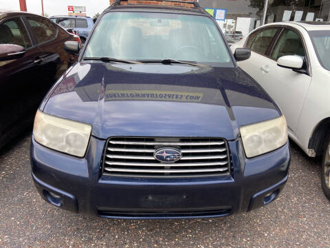 2006 Subaru Forester for sale at Northtown Auto Sales in Spring Lake MN