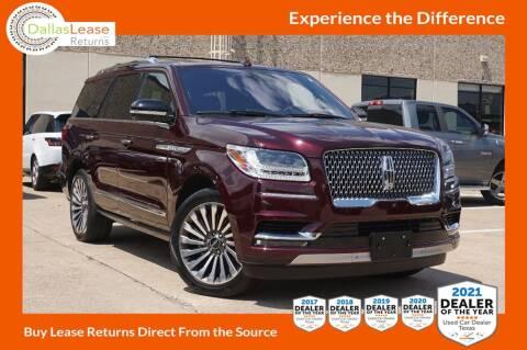2019 Lincoln Navigator for sale at Dallas Auto Finance in Dallas TX