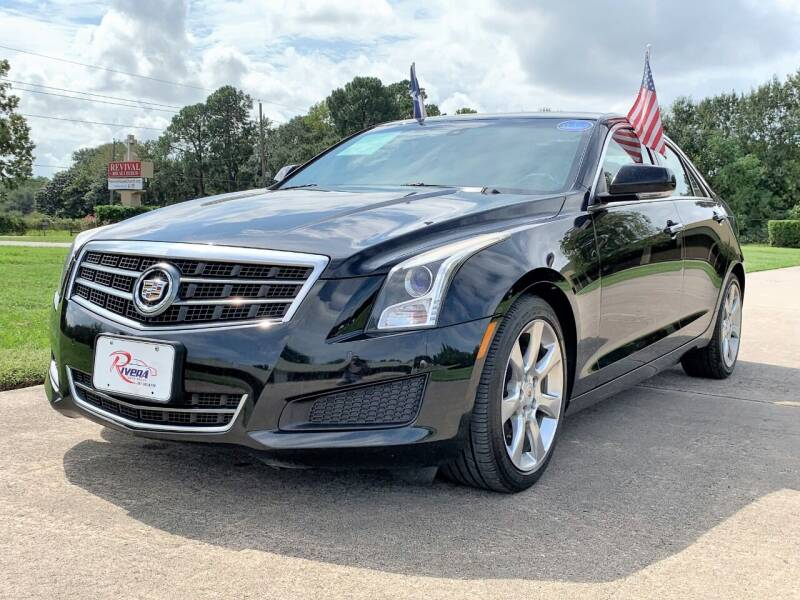 2013 Cadillac ATS for sale at Rivera Auto Group in Spring TX