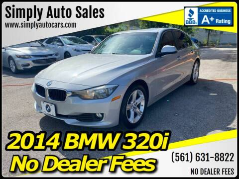 2014 BMW 3 Series for sale at Simply Auto Sales in Palm Beach Gardens FL
