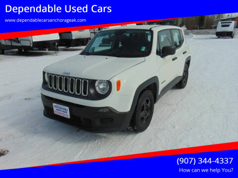 2018 Jeep Renegade for sale at Dependable Used Cars in Anchorage AK