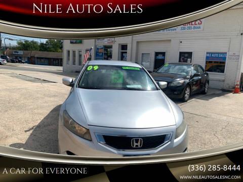 2009 Honda Accord for sale at Nile Auto Sales in Greensboro NC