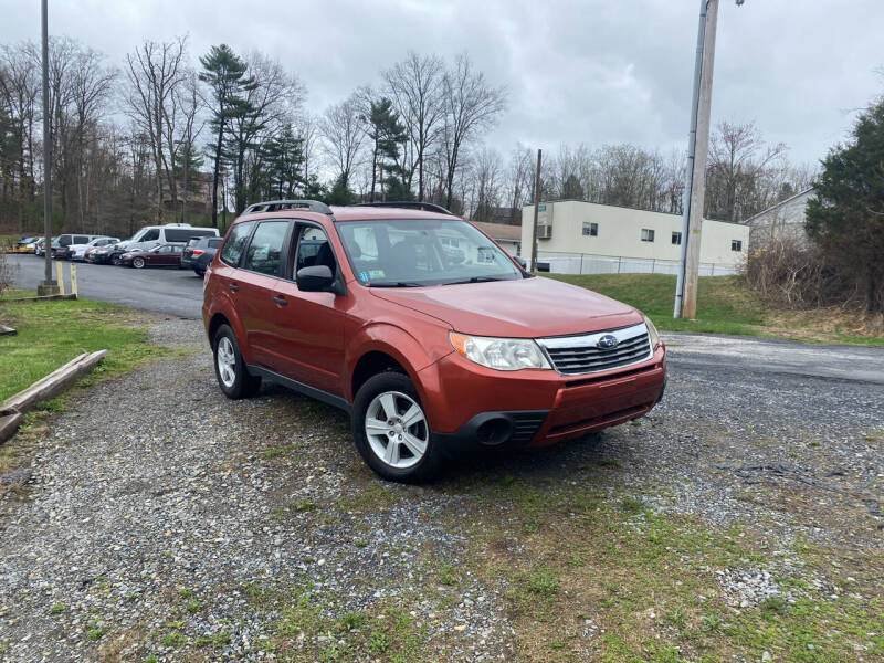 2010 Subaru Forester for sale at Deals On Wheels LLC in Saylorsburg PA