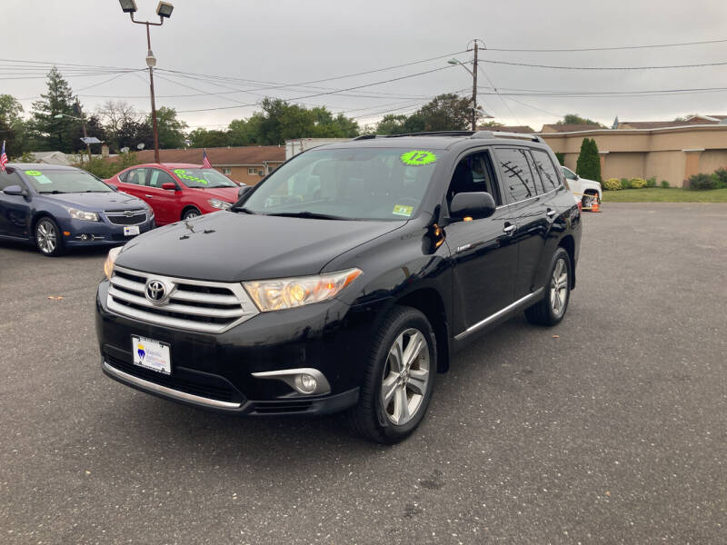2012 Toyota Highlander for sale at Majestic Automotive Group in Cinnaminson NJ