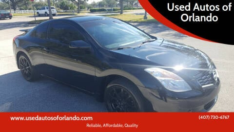 2009 Nissan Altima for sale at Used Autos of Orlando in Orlando FL