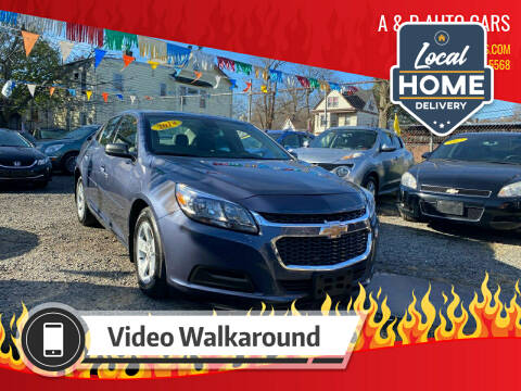2014 Chevrolet Malibu for sale at A & B Auto Cars in Newark NJ