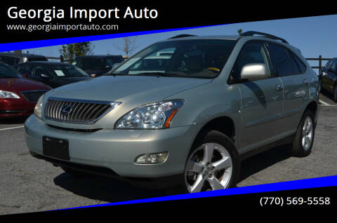 2008 Lexus RX 350 for sale at Georgia Import Auto in Alpharetta GA