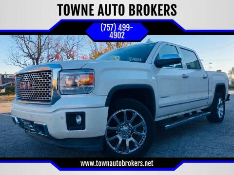 2015 GMC Sierra 1500 for sale at TOWNE AUTO BROKERS in Virginia Beach VA
