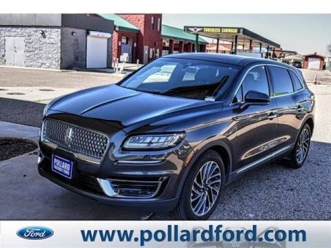 2019 Lincoln Nautilus for sale at South Plains Autoplex by RANDY BUCHANAN in Lubbock TX