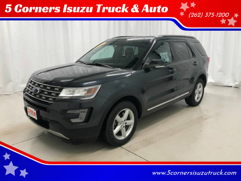 2017 Ford Explorer for sale at 5 Corners Isuzu Truck & Auto in Cedarburg WI