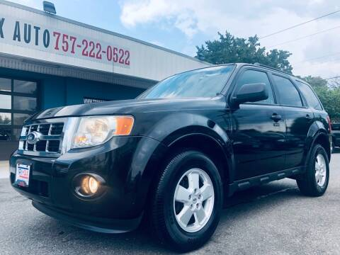 2011 Ford Escape for sale at Trimax Auto Group in Norfolk VA