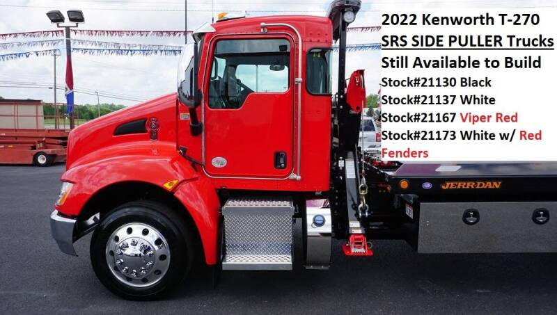 2022 Kenworth T270 SRS for sale at Ricks Auto Sales, Inc. in Kenton OH