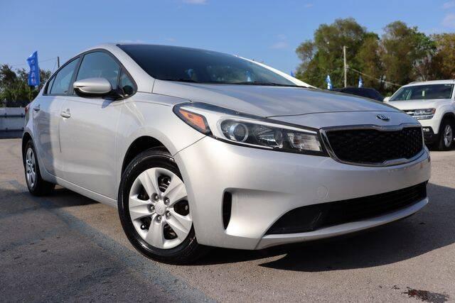 2018 Kia Forte for sale at OCEAN AUTO SALES in Miami FL