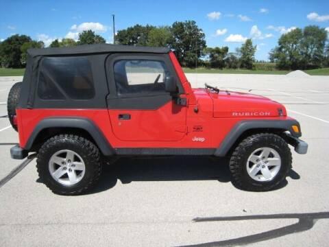 2005 Jeep Wrangler for sale at FINNEY'S AUTO & TRUCK in Atlanta IN