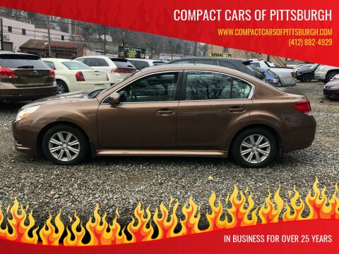 2011 Subaru Legacy for sale at Compact Cars of Pittsburgh in Pittsburgh PA