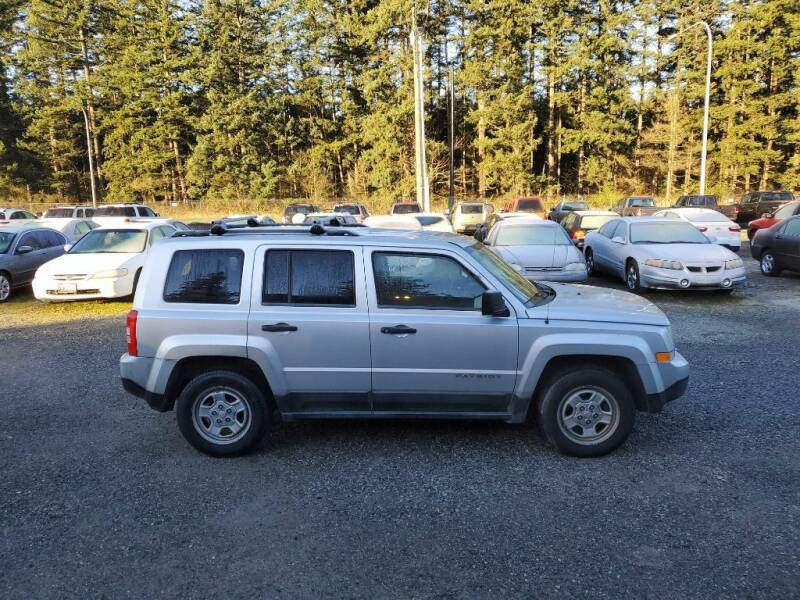 2012 Jeep Patriot for sale at WILSON MOTORS in Spanaway WA