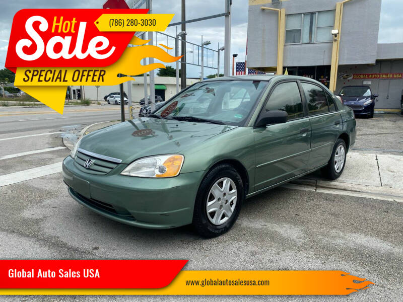 2003 Honda Civic for sale at Global Auto Sales USA in Miami FL
